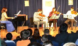 El Salón de Música de Isabel con el Cuarteto Croché