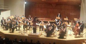 En el Auditorio Nacional de Madrid con la Orquesta Metropolitana dirigidos por Silvia Sanz. EL Carnaval de los animales.