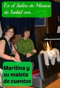 En el Salón con Marilina