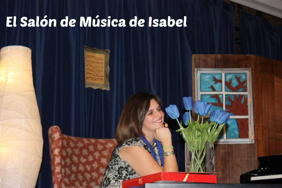 """Isabel Roch en """"El Salón de Música de Isabel"""""""