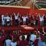 Asesoramiento Cultural. Actución de todos los alumnos de infantil y primaria en una obra sobre la Vida del Maestro Rodrigo escrita por Isabel Roch