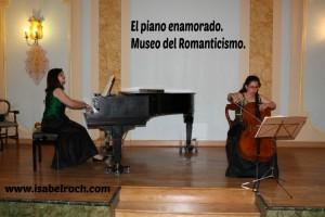 El piano enamorado. Isabel Roch, Teresa Sarabia