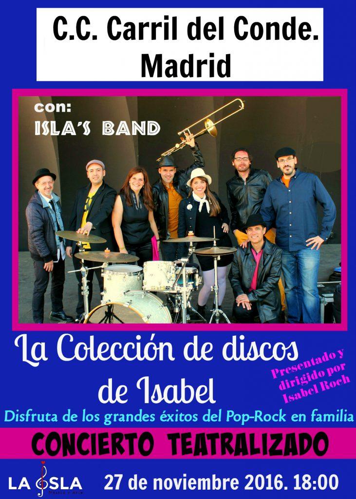 cartel-la-coleccion-de-discos-de-isabel-cccarril-del-conde-27-10-16